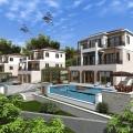 Villa Under Construction in Budva Riviera, Karadağ satılık ev, Karadağ satılık müstakil ev, Karadağ Ev Fiyatları