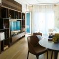 Karadağ satılık Lüks daire satılık Przno, Budva rivierası Tek yatak odalı daire 6m2 bir teras ile birlikte 5m2 Dir.