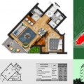 New Residential Complex in Becici, apartments in Montenegro, apartments with high rental potential in Montenegro buy, apartments in Montenegro buy