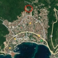 For sale urbanized plot in Budva with panoramic sea view.