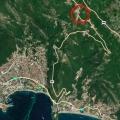 Urbanised plot in Stanisici, plot in Montenegro for sale, buy plot in Region Budva, building plot in Montenegro