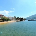 Cafe with a pier on the first line in Kumbor, karadağ da satılık dükkan, montenegro satılık cafe