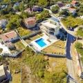 Bar'da Yeni Villa, Karadağ da satılık havuzlu villa, Karadağ da satılık deniz manzaralı villa, Bar satılık müstakil ev