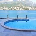 Herceg Novi, Njivice'de plajı ve havuzlu lüks villa, Karadağ da satılık havuzlu villa, Karadağ da satılık deniz manzaralı villa, Baosici satılık müstakil ev
