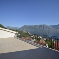 Apartments for sale with a sea view in Prcanj, only 150 m from the beach on a footpath.