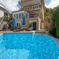 Modern villa with a pool and sea views in Krasici, house near the sea Montenegro