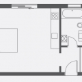 Modern Еlit Studio Daire, becici satılık daire, Karadağ da ev fiyatları, Karadağ da ev almak