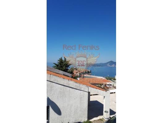 Deniz manzaralı rahat stüdyo. Sveti Stefan, Karadağ, Becici dan ev almak, Region Budva da satılık ev, Region Budva da satılık emlak