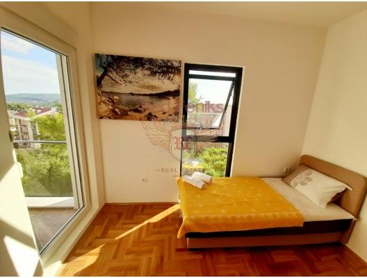 Tivat'ta Deniz Manzaralı Satılık İki Yatak Odalı Daire, Bigova da ev fiyatları, Bigova satılık ev fiyatları, Bigova da ev almak