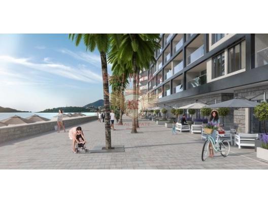 New Residential Complex on the First Line, Montenegro da satılık emlak, Becici da satılık ev, Becici da satılık emlak