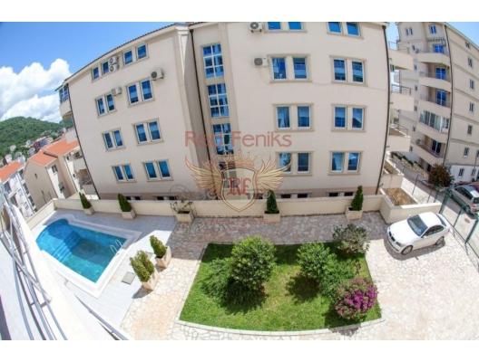 Apartment for sale in Petrovac, Budva Riviera, Montenegro.