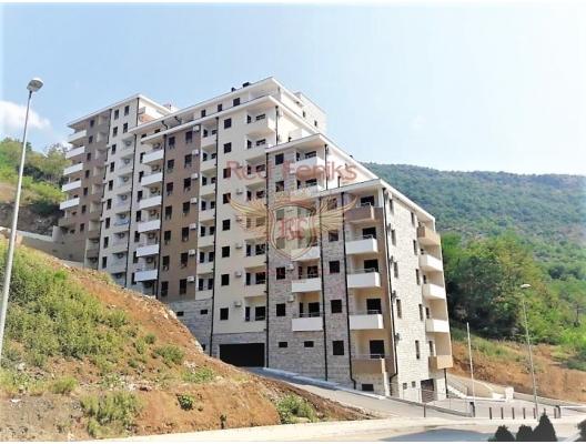 Becici'de yeni bir yatak odalı daire, Karadağ da satılık ev, Montenegro da satılık ev, Karadağ da satılık emlak