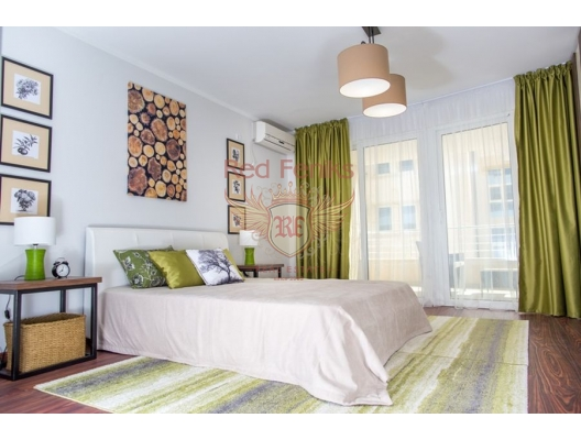 Perovac'da Condo Hotel içinde Havuzlu Daireler, Becici da satılık evler, Becici satılık daire, Becici satılık daireler