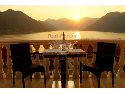 SATILDI! Waterscape apartment in residential development with outdoor pool, Montenegro, Dobrota da ev fiyatları, Dobrota satılık ev fiyatları, Dobrota da ev almak