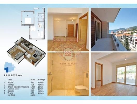 Rafailovici'de Yeni Bitmis Site, Becici da satılık evler, Becici satılık daire, Becici satılık daireler