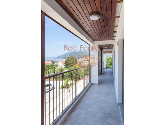 Körfez Manzaralı Yeni Bir Konut Kompleksinde Daireler ve Şehir Evleri, Region Tivat da satılık evler, Region Tivat satılık daire, Region Tivat satılık daireler