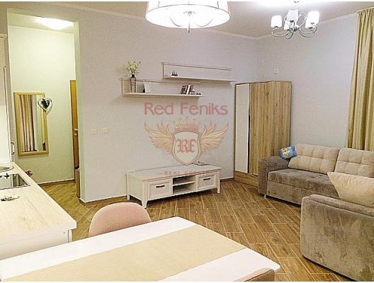 Yeni konut kompleksinde lüks stüdyo daire, Karadağ da satılık ev, Montenegro da satılık ev, Karadağ da satılık emlak