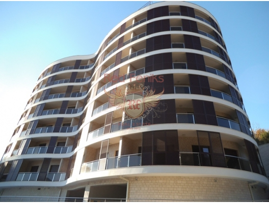 Sea view apartment for sale in Becici, Budva Riviera Montenegro.