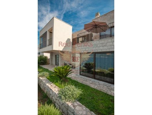 Villa in Krasici, first coastline, Montenegro real estate, property in Montenegro, Lustica Peninsula house sale
