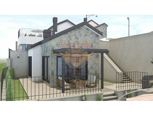 Tivat'ta Misafir Evli Güzel Villa, Karadağ satılık ev, Karadağ satılık müstakil ev, Karadağ Ev Fiyatları