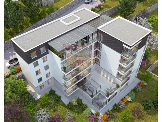 St Stephen yeni bir konut kompleksi içinde satılık iki yatak odalı daireler, Karadağ da satılık ev, Montenegro da satılık ev, Karadağ da satılık emlak