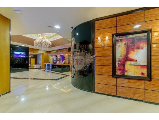 Budva'nın Ön Cephesinde Tek Yatak Odalı Daire 1+1, Karadağ'da satılık otel konsepti daire, Karadağ'da satılık otel konseptli apart daireler, karadağ yatırım fırsatları