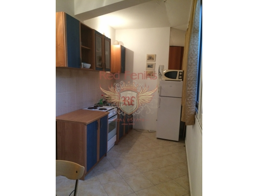 Rafailovovici'de Tek Yatak Odalı Daire 1+1, Karadağ da satılık ev, Montenegro da satılık ev, Karadağ da satılık emlak