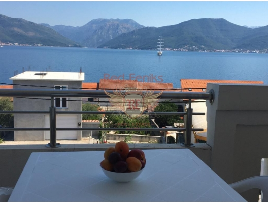 Apartment with One Bedroom on the first Line in Krasici, apartments in Montenegro, apartments with high rental potential in Montenegro buy, apartments in Montenegro buy