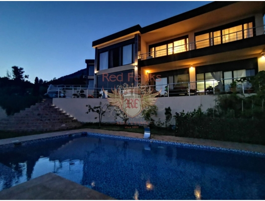 Modern Villa with Pool and Sea View in Bar, Shushan, Montenegro real estate, property in Montenegro, Region Bar and Ulcinj house sale