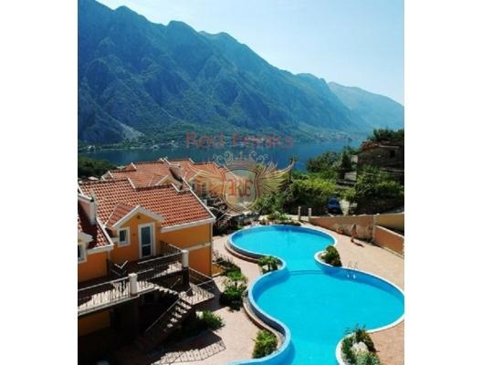 Boka Koyu'nda deniz manzaralı iki yatak odalı daire, becici satılık daire, Karadağ da ev fiyatları, Karadağ da ev almak