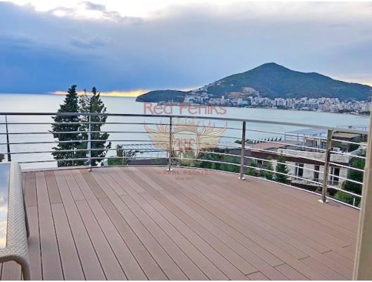 Budva'da sahilde panoramik daire, Becici dan ev almak, Region Budva da satılık ev, Region Budva da satılık emlak