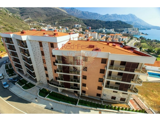 New residential complex in Becici, hotel residence for sale in Region Budva, hotel room for sale in europe, hotel room in Europe