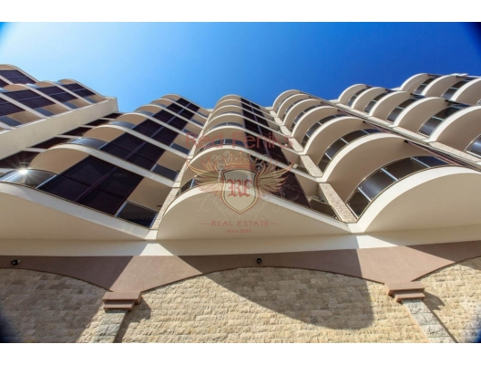 New residential complex in Becici, hotel in Montenegro for sale, hotel concept apartment for sale in Becici