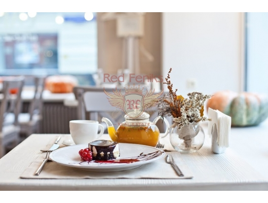 For sale cafe in the center of Budva The area of 62m2.