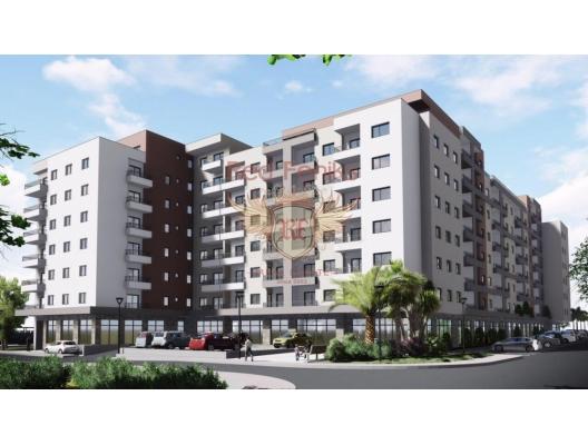 Zwei-Zimmer-Wohnungen in einem neuen Haus im Bau im Zentrum von Budva, Wohnungen zum Verkauf in Montenegro, Wohnungen in Montenegro Verkauf, Wohnung zum Verkauf in Region Budva