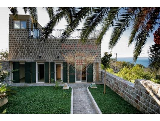 Rezevici'de benzersiz villa, Skoci Devojka, Karadağ da satılık havuzlu villa, Karadağ da satılık deniz manzaralı villa, Becici satılık müstakil ev