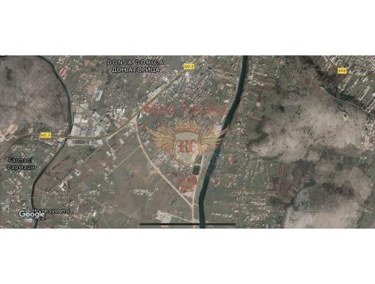 Investment plot in Podgorica, building land in Central region, land for sale in Cetinje Montenegro