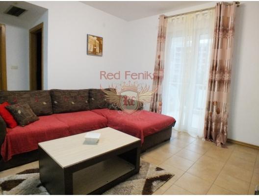 Özel bir komplekste tek yatak odalı daire. Becici, Karadağ, Karadağ da satılık ev, Montenegro da satılık ev, Karadağ da satılık emlak