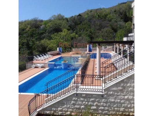 Herceg Novi kasabasında lüks bir komplekste daire, Karadağ satılık evler, Karadağ da satılık daire, Karadağ da satılık daireler