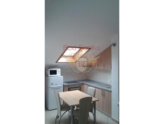 Rafailovici'de Geniş Apartman Dairesi, becici satılık daire, Karadağ da ev fiyatları, Karadağ da ev almak