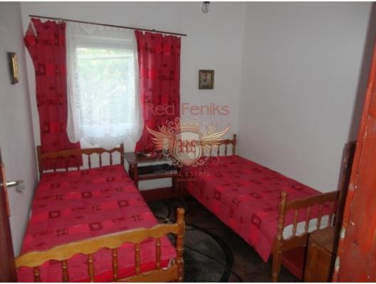 Cozy house on the first line of the village Djurashevichi, Krasici house buy, buy house in Montenegro, sea view house for sale in Montenegro