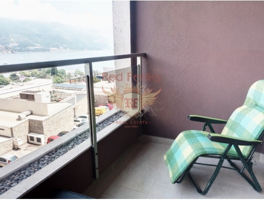 Two bedroom apartment in Budva, hotel residence for sale in Region Budva, hotel room for sale in europe, hotel room in Europe