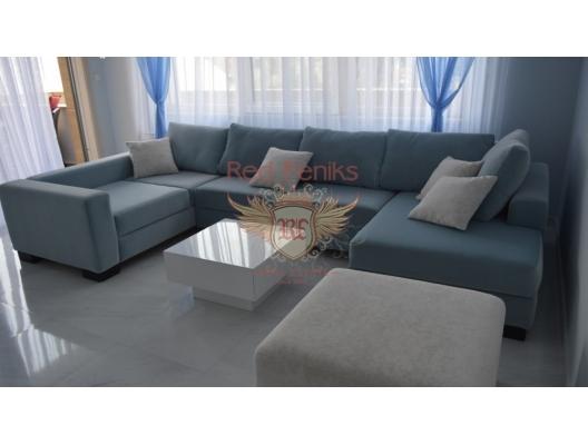 Kotor ve Perast Eski Kenti yakınlarındaki Ljuta'da deniz manzaralı lüks iki yatak odalı daire., Karadağ satılık evler, Karadağ da satılık daire, Karadağ da satılık daireler