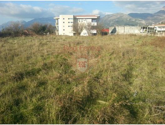 Urbanized plot in the Bar, Montenegro da satılık arsa, Montenegro da satılık imar arsası