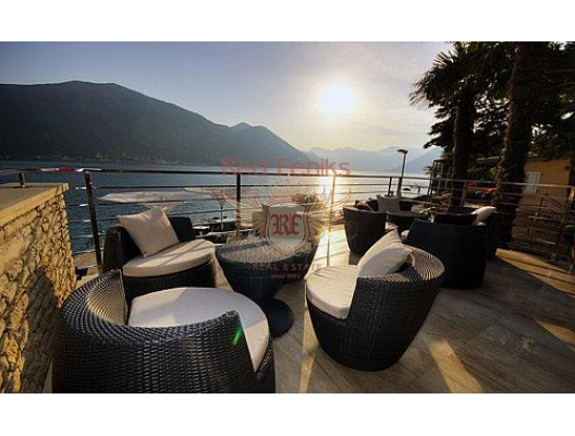 This beautiful small hotel is considered the best hotel in Montenegro.