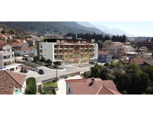 Tivat'ta İki Yatak Odalı Daire 2+1, becici satılık daire, Karadağ da ev fiyatları, Karadağ da ev almak