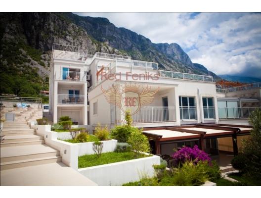 Kotor'daki yeni konut kompleksi, Karadağ satılık evler, Karadağ da satılık daire, Karadağ da satılık daireler