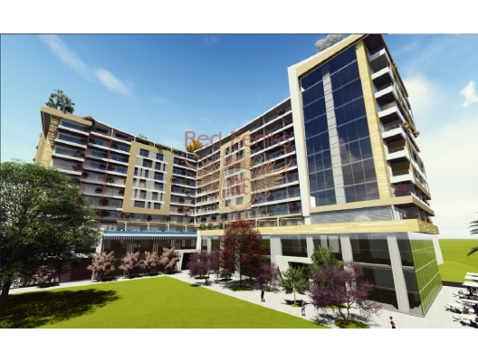 This unique complex will be located 20 meters from the sea with direct access to the promenade Budva and Mediteranskaya street.