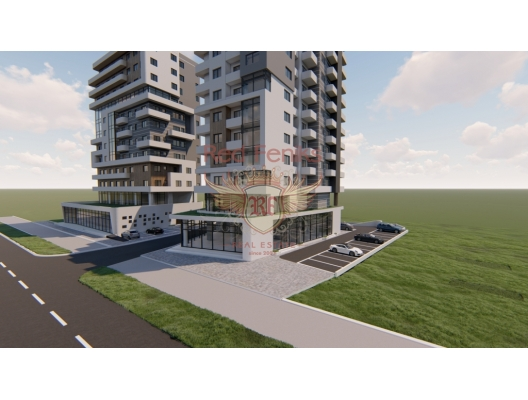 Bar denize yakın yeni bir binada daireler, becici satılık daire, Karadağ da ev fiyatları, Karadağ da ev almak