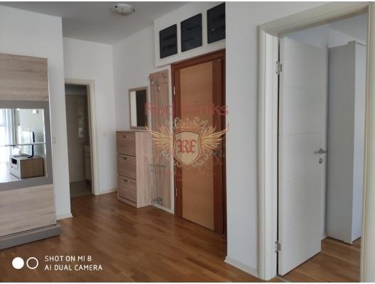 Montenegro Karadağ Becici / Budva'da satılık tek yatak odalı daire, karadağ da kira getirisi yüksek satılık evler, avrupa'da satılık otel odası, otel odası Avrupa'da